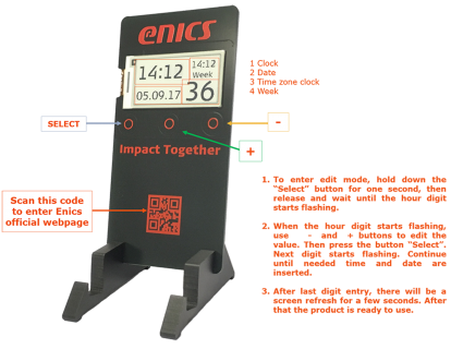Enics Souvenir Product User Quide_web